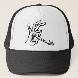 lefty trucker hat