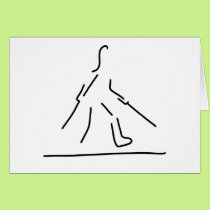 leg broken fracture gypsum card