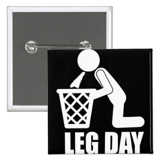 Leg Day - Bodybuilding Workout - Puke Button