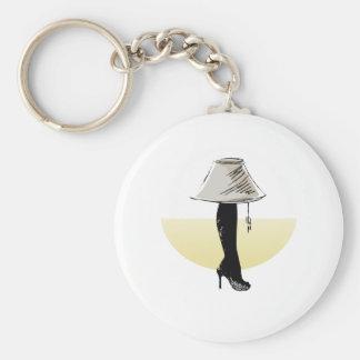 Leg lamp keychain