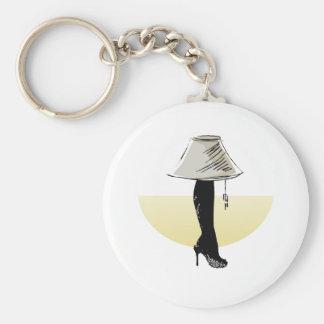 Leg lamp keychains