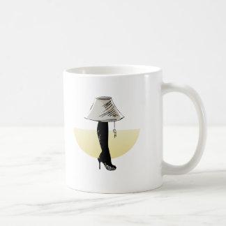 Leg lamp mug