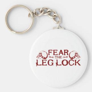 Leg Lock Key Chain