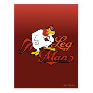 Leg Man Postcard