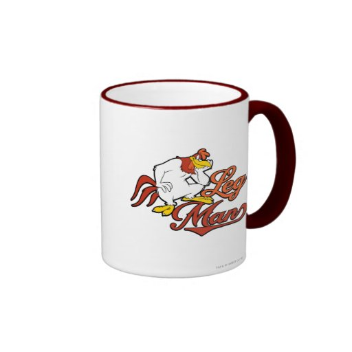 Leg Man Ringer Coffee Mug