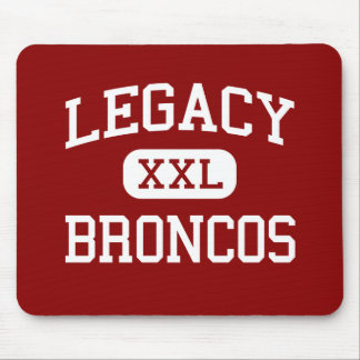 Legacy - Broncos - High School - Mansfield Texas Mouse Pad