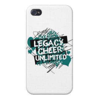 Legacy Cheer Graffiti Design iPhone 4/4S Case