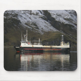 Legacy, Fishing Trawler in Dutch Harbor, AK Mouse Pad