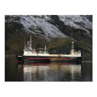 Legacy, Fishing Trawler in Dutch Harbor, AK Postcard