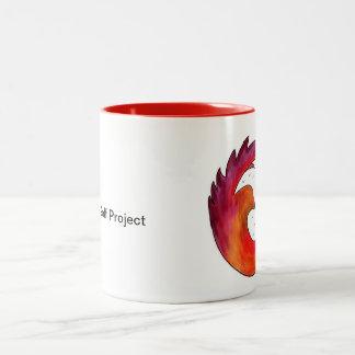 Legacy Golf Project-New Logo Two-Tone Coffee Mug