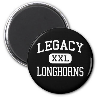 Legacy - Longhorns - High - North Las Vegas Nevada 2 Inch Round Magnet