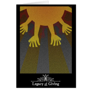 Legacy of Giving - Card