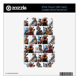 Legacy Pattern iPod Touch 4G Decal