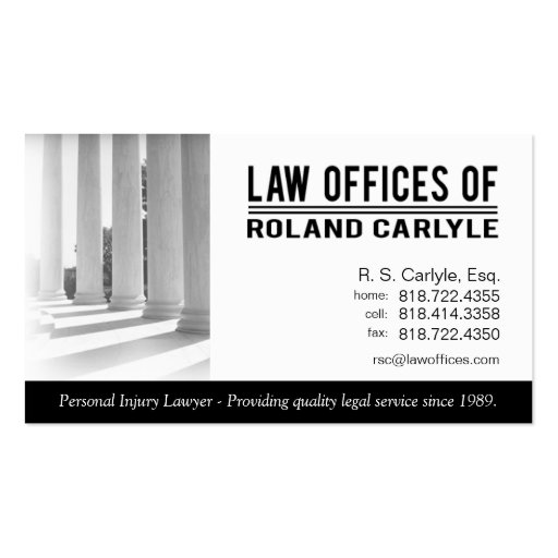 Legal2 Law Offices of Attorney Business Card Templates