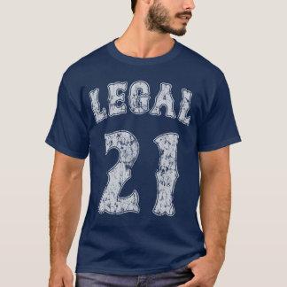 Legal 21 21st Birthday T-Shirt