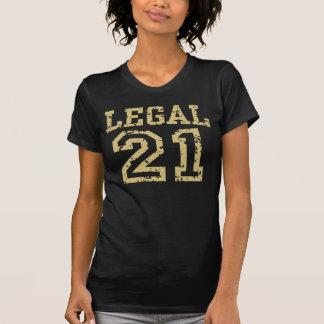 Legal 21 t shirts
