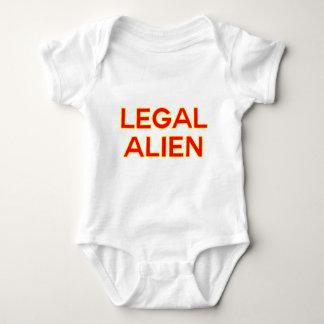 Legal Alien | Funny Take on Immigration Reform Baby Bodysuit