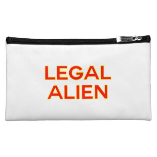 Legal Alien | Funny Take on Immigration Reform Cosmetic Bag