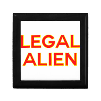 Legal Alien | Funny Take on Immigration Reform Jewelry Box