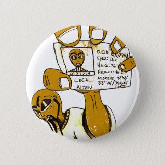 Legal Alien Pinback Button