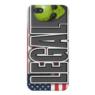 legal aliens iPhone 5/5S cases