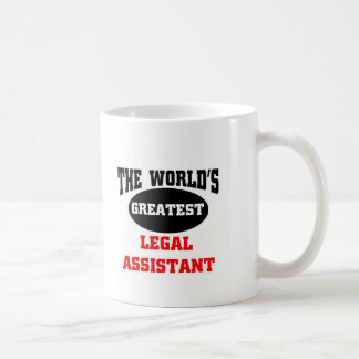Legal assistant classic white coffee mug