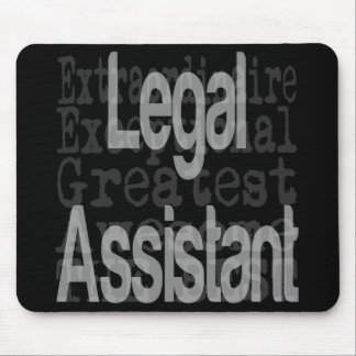 Legal Assistant Extraordinaire Mouse Pad