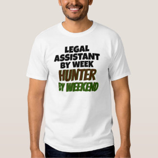 Legal Assistant Loves Hunting Tshirt