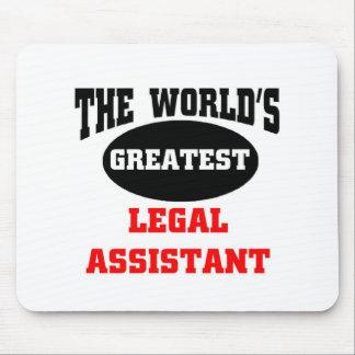 Legal assistant mouse pad