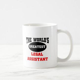 Legal assistant classic white coffee mug