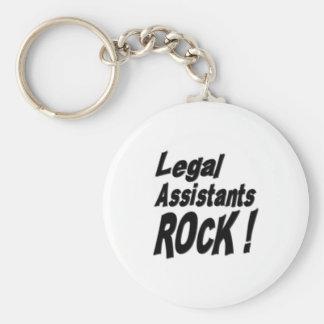 Legal Assistants Rock! Keychain