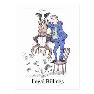 Legal Billings postcard