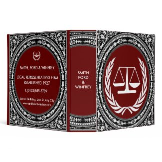 LEGAL BINDER binder
