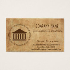 Legal Business Card at Zazzle
