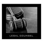Legal Counsel Posters