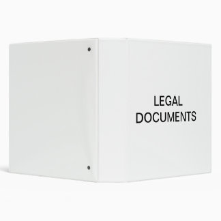Legal Documents Organizer Binder