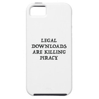 Legal Downloads Are Killing Piracy iPhone 5/5S Case