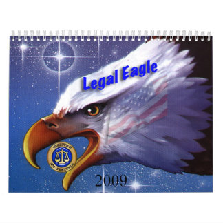 Legal Eagle, 2009 Calendar