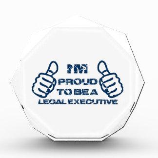Legal executive Design Acrylic Award