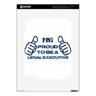 Legal executive Design iPad 3 Skins