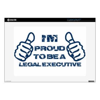 "Legal executive Design Skin For 15"" Laptop"