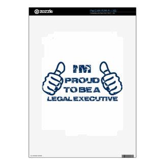 Legal executive Design Skins For iPad 2