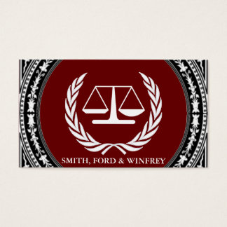 LEGAL FIRM BUSINESS CARD