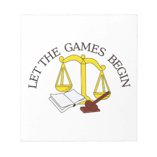 Legal Games Notepad