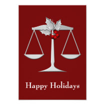 Legal , Lawyer profession Holiday Cards