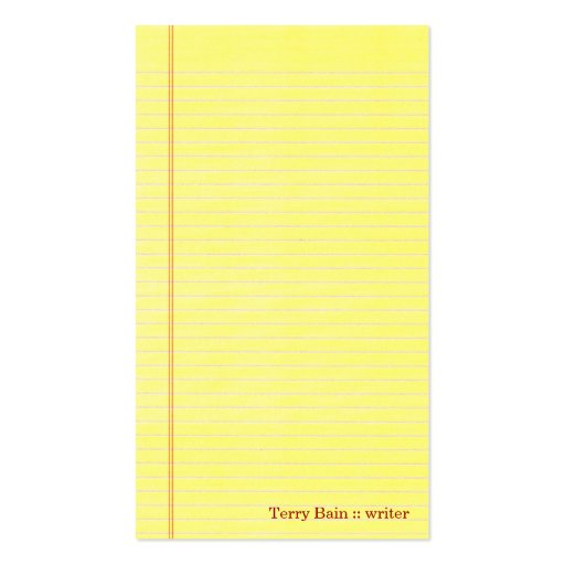 Legal pad template yellow lined paper template legal pad powerpoint yellow notepad template maxwellsz