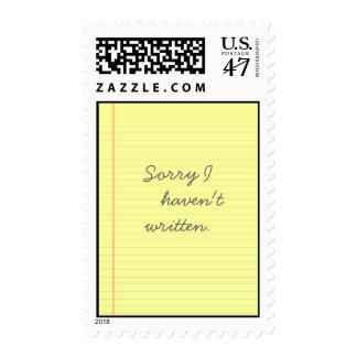 legal pad postage