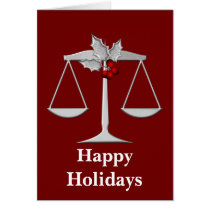 Legal profession holiday Cards