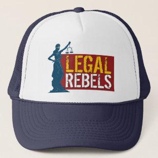 Legal Rebels Ironic Trucker Hat
