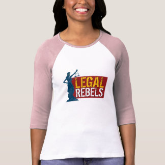 Legal Rebels Lady Justice Jersey T T Shirts